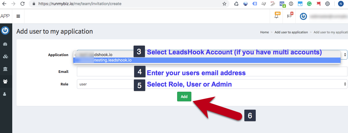 How to Add New Users to LeadsHook